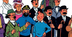 Tintin: amics i adversaris