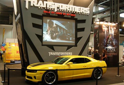 Salo del Comic Transformers
