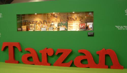Salo del Comic Exposicio Tarzan
