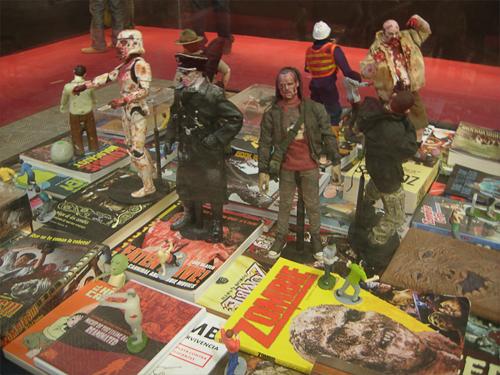 Salo del Comic Exposicio Zombie