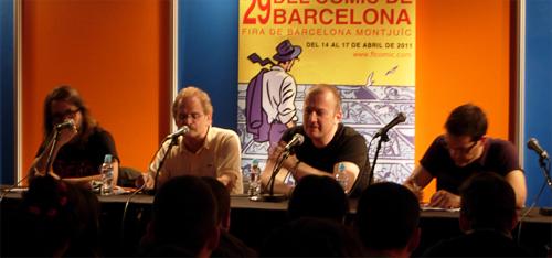 Salo del Comic 2011 Ezquerra Ennis