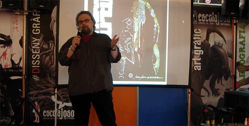 Salo del Comic 2011 Guera