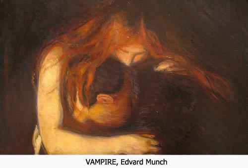 Vampirs Edvard Munch Vampire
