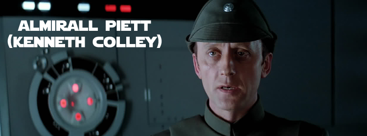Almirall Piett Star Wars