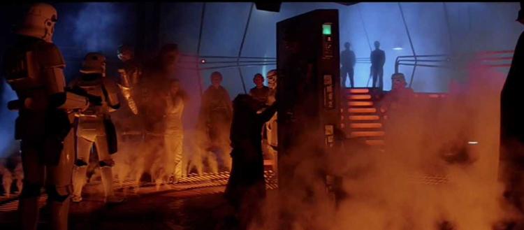Cambra congelant de carbonita Star Wars