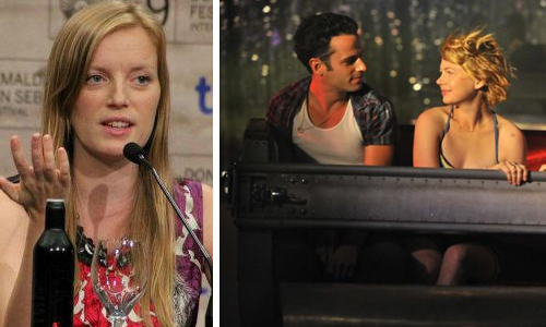 "Sarah Polley i una imatge de ""Take this waltz"""