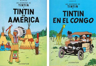 Tintin En America En el Congo Herge
