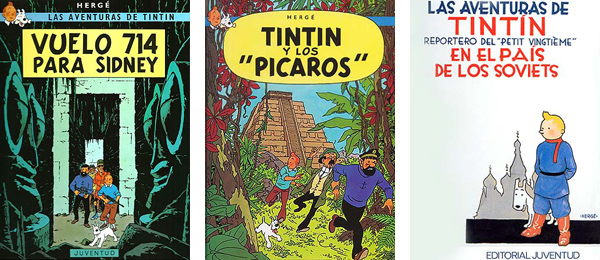 Tintin Sidney Picaros Soviets Herge
