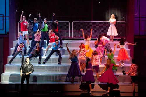 """Grease, el musical"" amb Edurne i Jordi Coll."