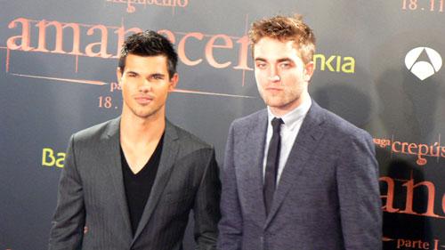 Premiere Crepúsculo Amanecer Barcelona Pattinson Lautner