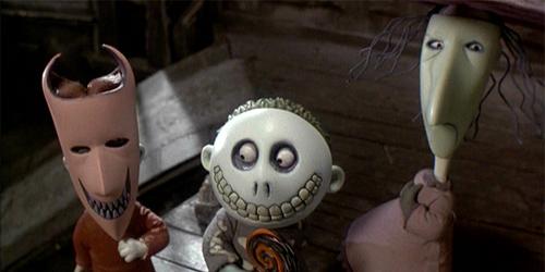 Niightmare before Christmas Tim Burton Lock Shock Barrel