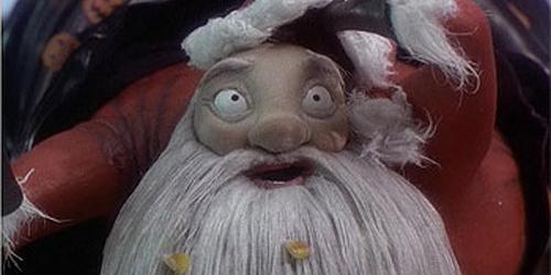 Niightmare before Christmas Tim Burton Santa Claus
