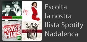 Escolta la nostra llista Spotify nadalenca.