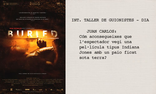 Buried (Enterrado) (2010)  Guió de Chris Sparling.