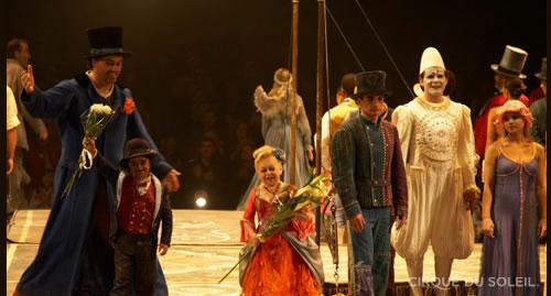"""Imatge de """"Corteo"""" del Cirque du Soleil."""