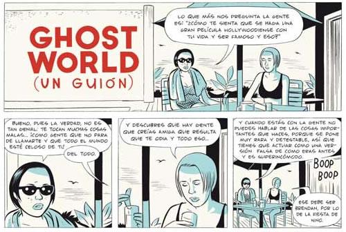 Vinyetes de l'edició especial de Ghost World, de Daniel Clowes. Ed. La Cúpula.