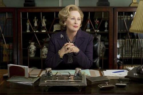 La dama de hierro Mery Streep