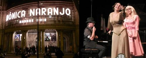 """El """"Madame Noir"""" de Mónica Naranjo en el Teatre Coliseum de Barcelona."""
