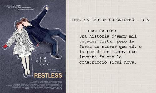 Restless (2011). Guió de Jason Lew.