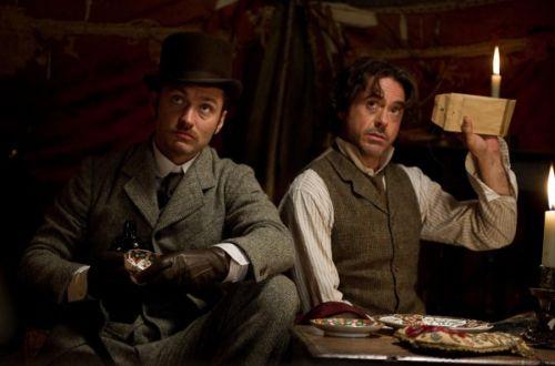 Sherlock Holmes Juego de Sombras Robert Downey Jr. Jude Law