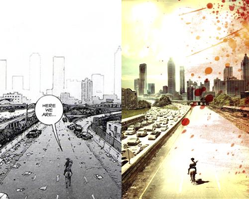 The Walking Dead Chronicles: Comparació del cómic i la sèrie.