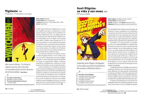 """""""Watchmen"""" i """"Scott Pilgrim"""", dos dels 1001 còmics ressenyat a """"1001 cómics que hay que leer antes de morir"""""""