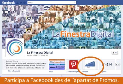 uanya amb La Finestra Digital una entrada doble pel Mecal