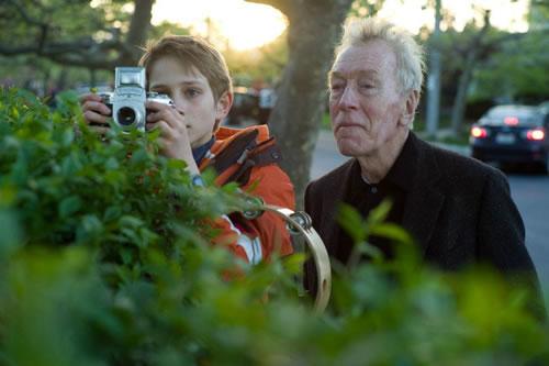 "Thomas Horn i Max von Sydow a ""Tan fuerte, tan cerca"""