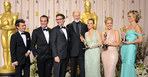 The Artist, Oscars 2012