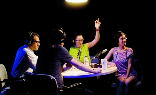 Nit de radio dos punt zero de Cristina Clemente