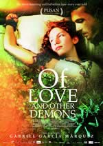 """Cartell de """"Del amor y otros demonios"""""""