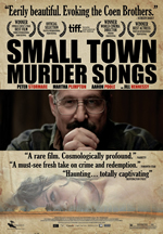 "Cartell de ""Small Town Murders Songs"""