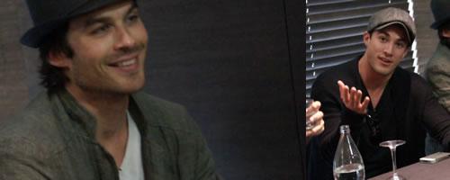 Ian Somerhalder i Michael Trevino.