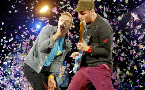 Coldplay en directo
