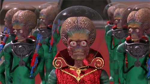 Mars Attack! Tim Burton