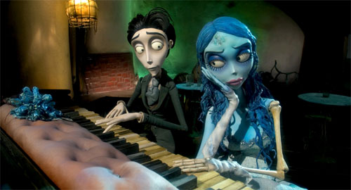 La novia cadáver Tim Burton