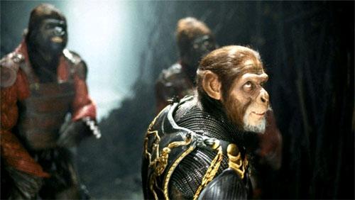 Planeta de los simios Tim Burton
