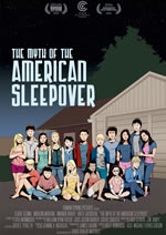 "Cartell de ""The Myth of American Sleepover"""