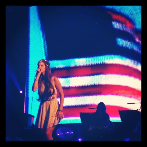 Lana del Rey. Sónar 2012. Foto: Iker Z.P.
