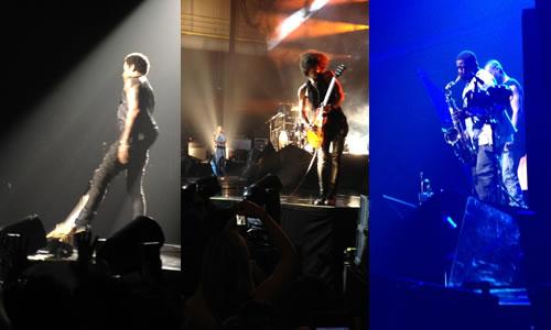 Lenny Kravitz i la seva banda al Sant Jordi Club. Barcelona, 2012. Foto:I.Z.P.