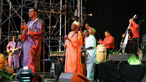 Afrocubism al Primavera Sound 2012. (C) Damia Bosch