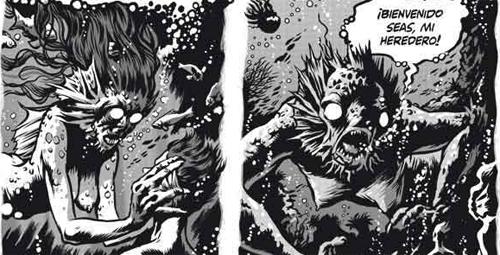 """""""Desde el más allá y otras historias"""" H.P.Lovecraft / Eric Kriek"""