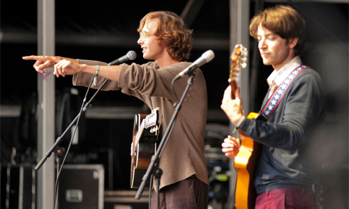 Kings of Convenience al Primavera Sound 2012. (C) Eric Pamies