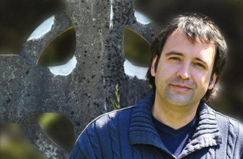 "Juan Francisco Ferrándiz, autor de ""Las horas oscuras"""