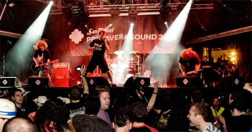 Napalm Death al Primavera Sound 2012. (C) Eric Pamies