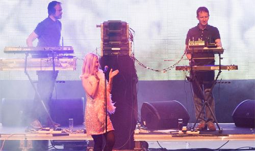 Saint Etienne al Primavera Sound 2012. (C) Eric Pamies