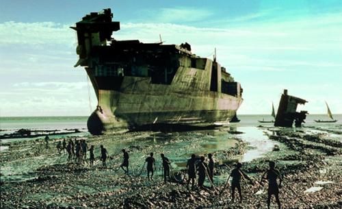 El cementerio de barcos