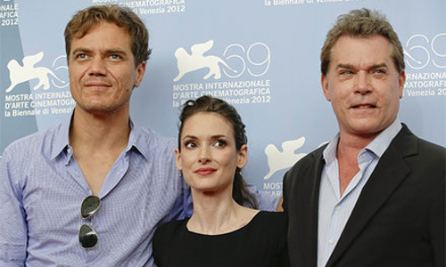 Michael Shannon, Winona Ryder, Ray Liotta presentant 'The iceman'