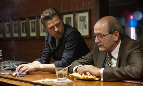 """""""Mátalos suavemente"""" Andrew Dominik Brad Pitt"""