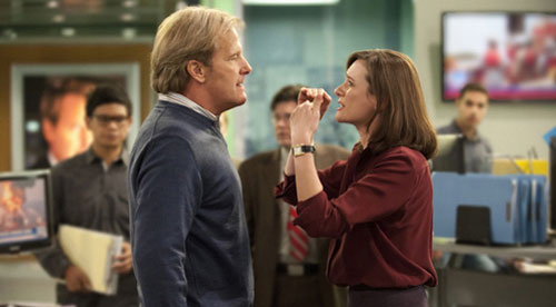 """The Newsroom"" Aaron Sorkin Jeff Daniels"